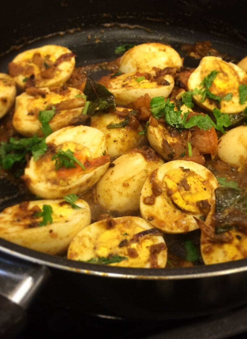 Nadan Mutta (Egg) Roast