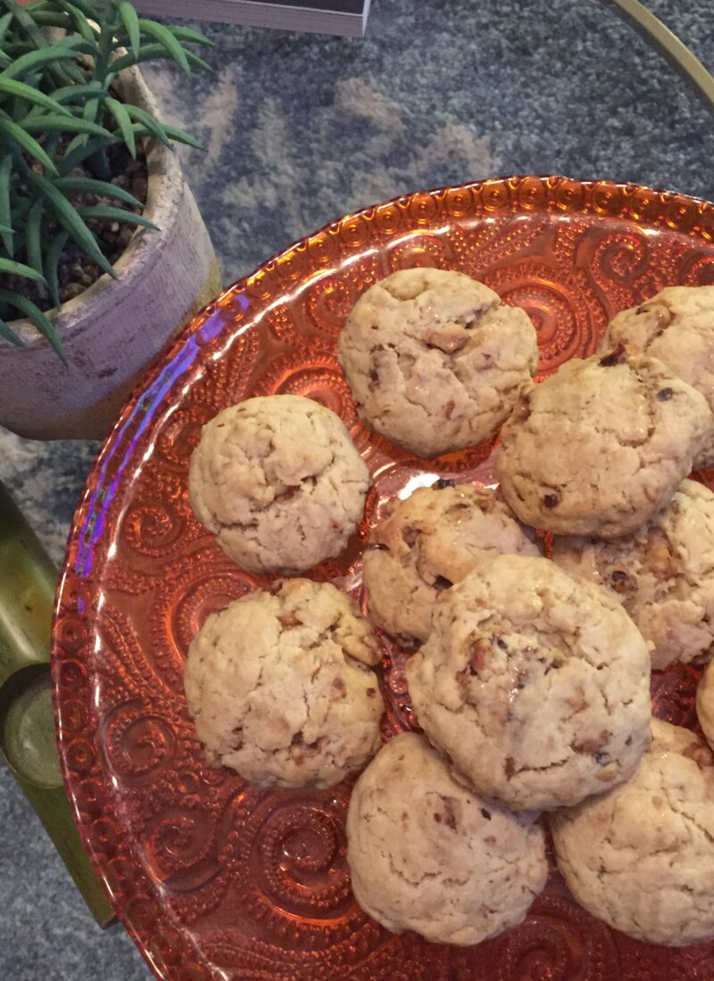 Not Your Mama's Walnut Cookies (but, maybe your Amma's)