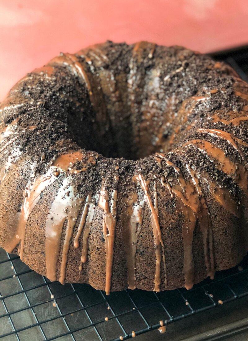 The Ultimate Oreo Bundt Cake