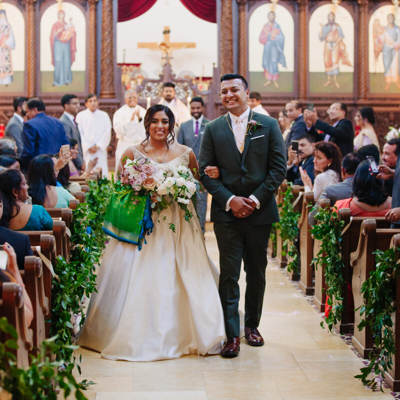 Ann Ittoop & George Kuruvilla Wedding