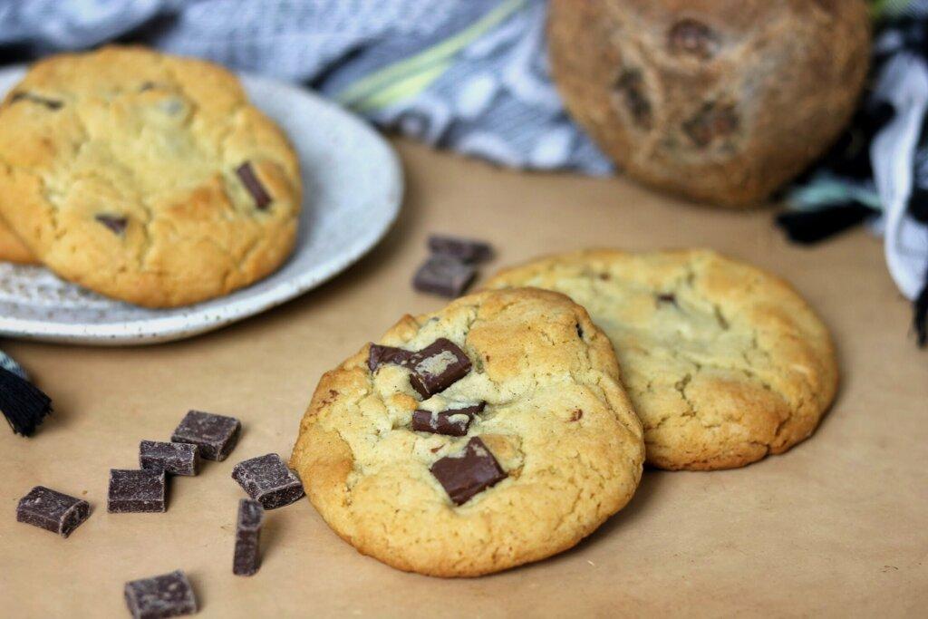 Coconut Tahini Chocolate Chip Cookie