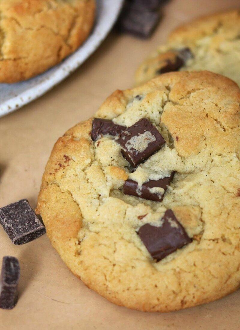 Coconut Tahini Chocolate Chip Cookie Recipe