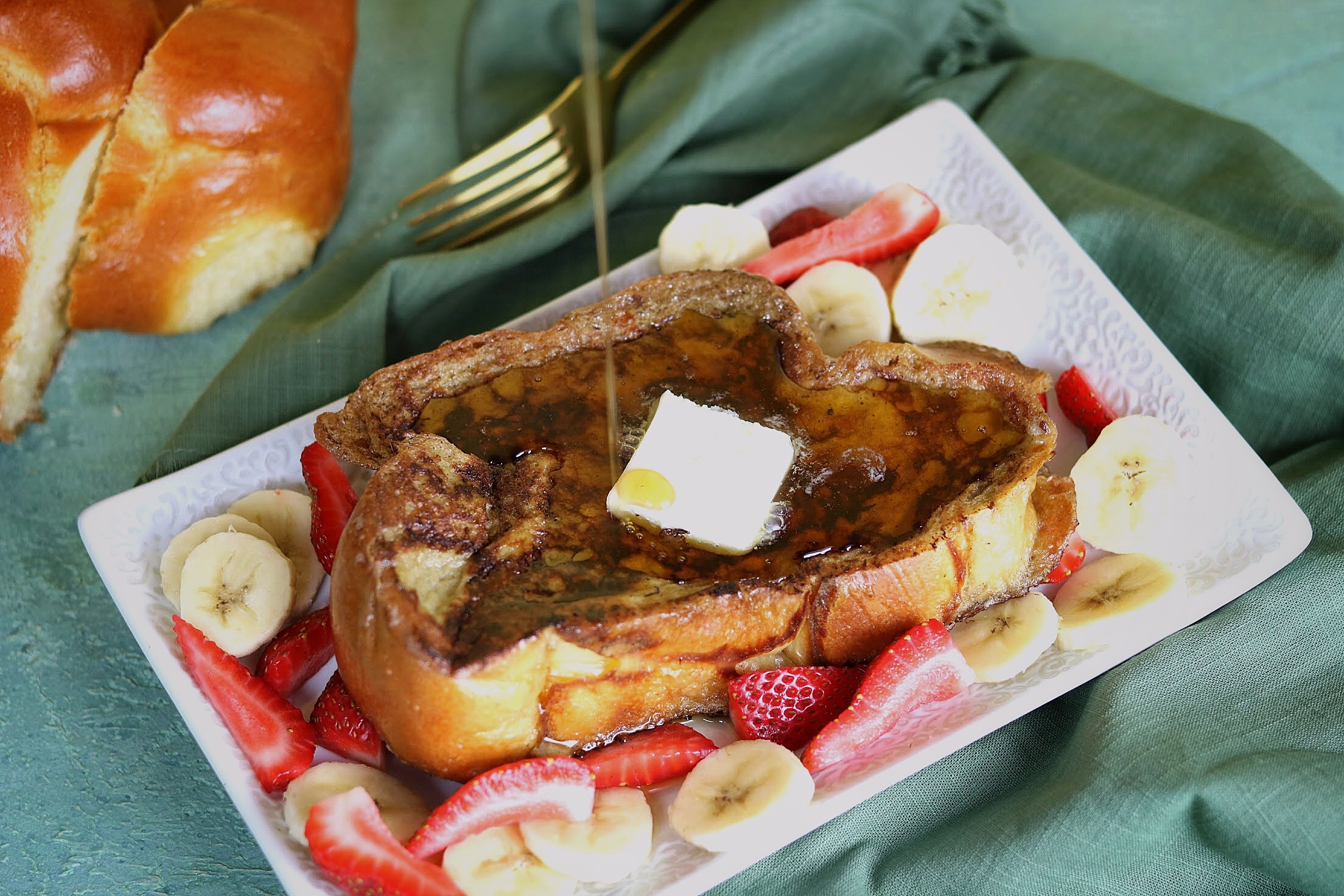 Cardamom Coconut French Toast