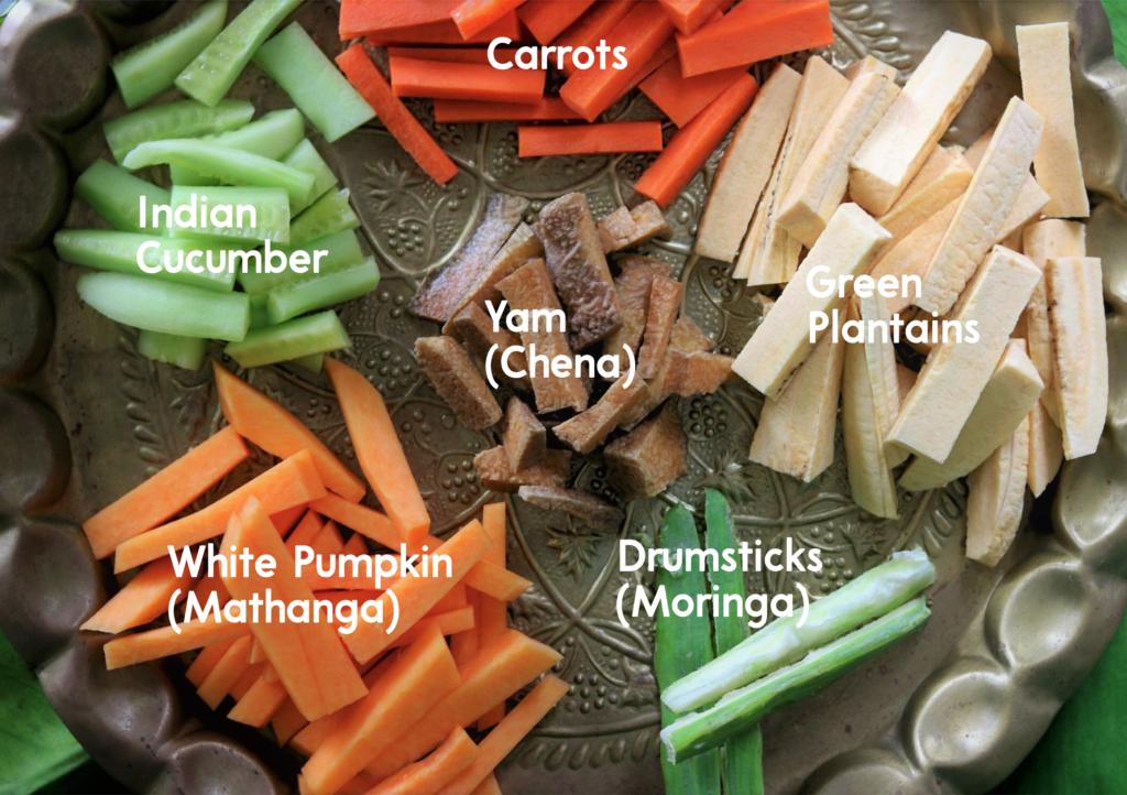 Kerala Aviyal Vegetables
