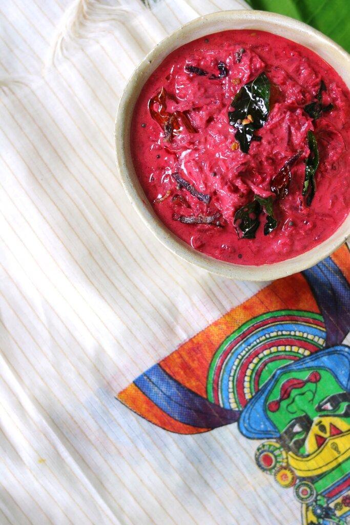 Red Beet Pachadi