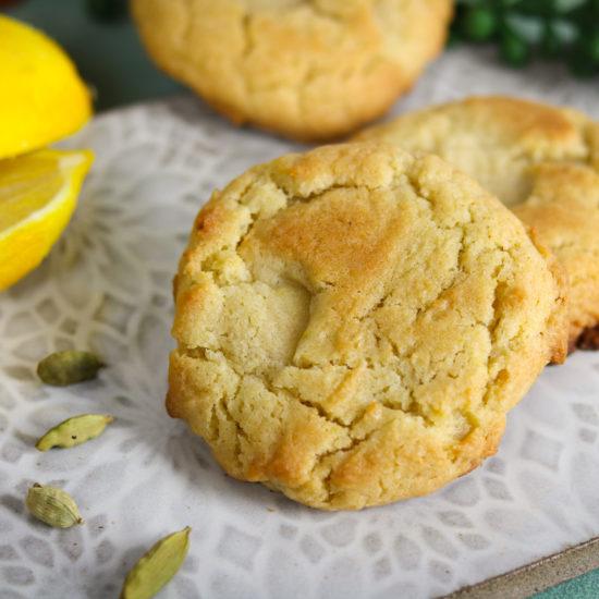 Lemon Cardamom Cookies