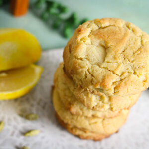 Lemon Cardamom Cookies