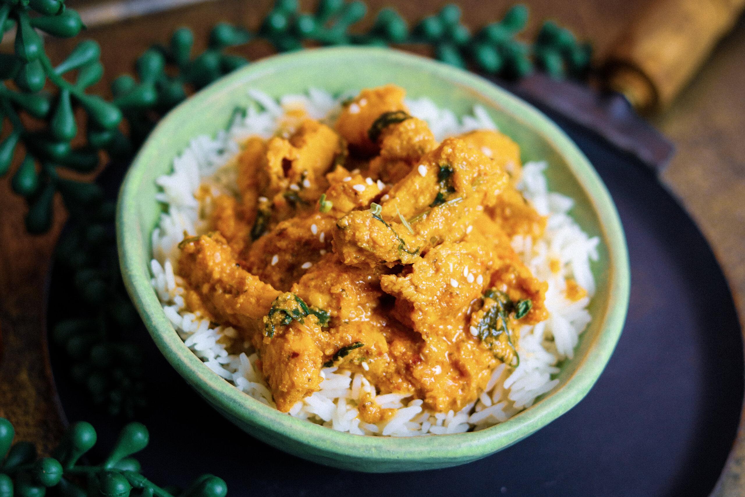 Coconut Chili Chicken Curry