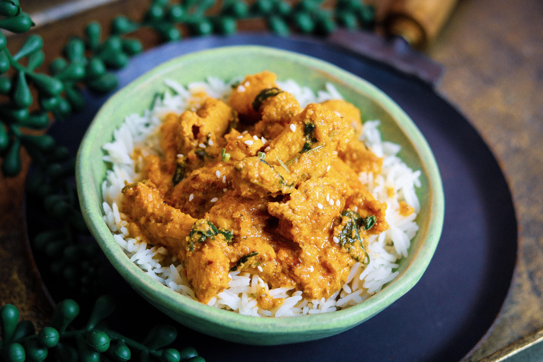 Coconut Chili Chicken Curry The Familiar Kitchen