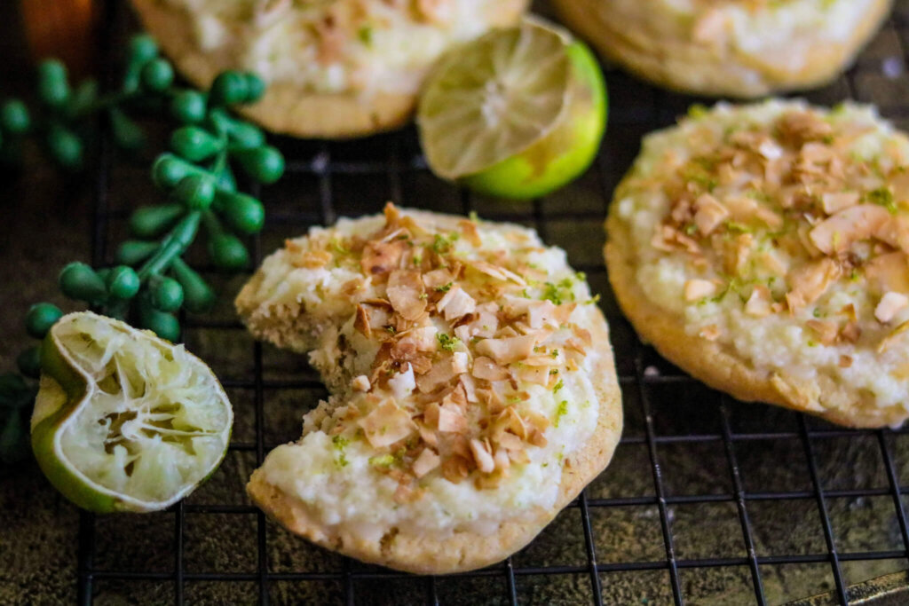 Key Lime Coconut Cookie recipe