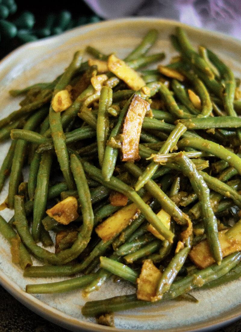 Beans Mezhukkupuratti (Stir Fry)